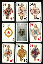 Collectible t playing cards Romanov Dynasty Russian Emperor Portraits